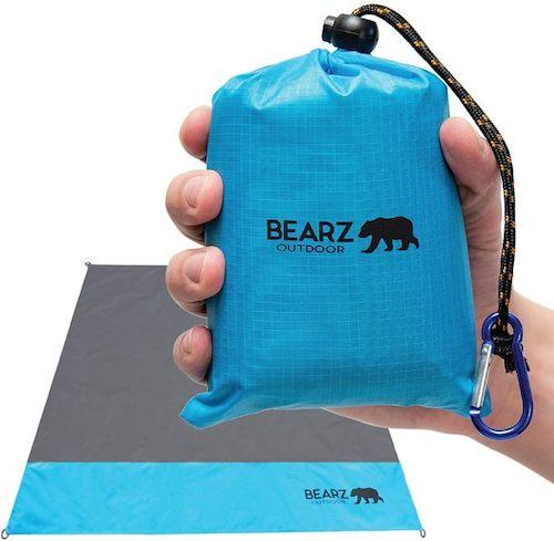 Kompakte Picknickdecke mit Transporttasche