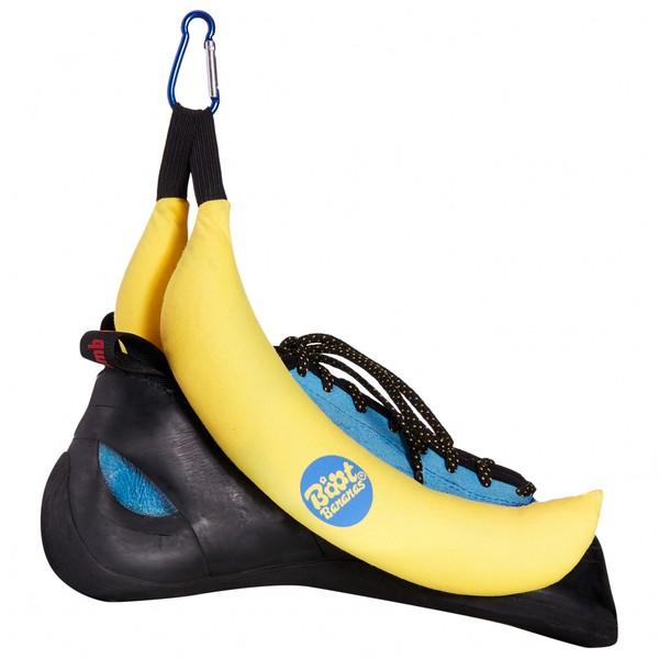 Schuh Deo in Bananen Form in Kletterschuh