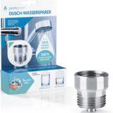 bluegreen Dusch Wassersparer mit Verpackung 160x160